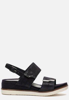 tamaris Tamaris PureRelax sandalen met sleehak blauw