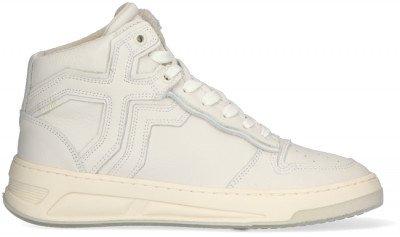 Bronx Witte Bronx Hoge Sneaker Old-cosmo 47325