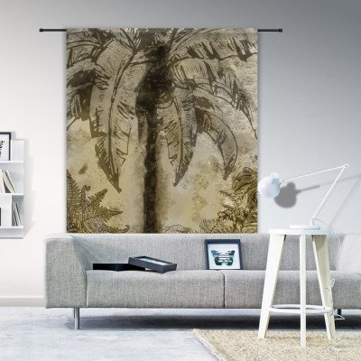 Urban Cotton Urban Cotton Wandkleed 'Urban Jungle', 190 x 145cm