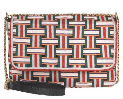Becksondergaard Becksondergaard Quinn Bag Groen/Multicolor Tas
