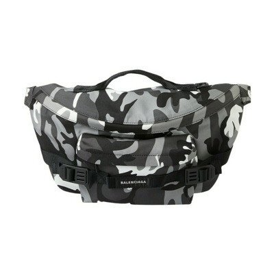 Balenciaga Army Camouflage Large Belt Bag