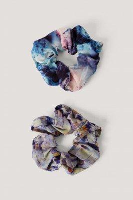 NA-KD Accessories NA-KD Accessories Scrunchies - Multicolor