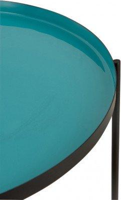 J-Line J-Line Bijzettafel 'Seraphina' kleur Turquoise