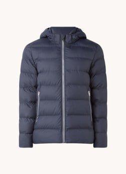 Gant Gant The Active Cloud gewatteerde jas met afneembare capuchon
