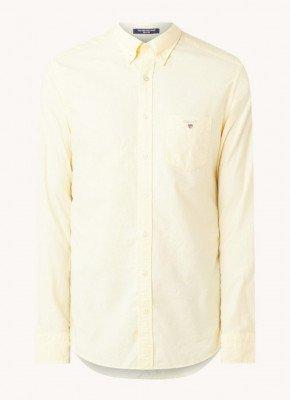Gant Gant Regular fit overhemd met borstzak