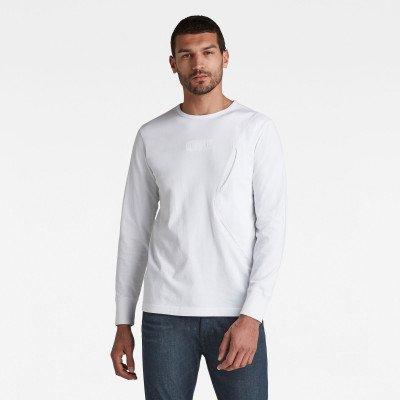 G-Star RAW Pocket R T-Shirt - Wit - Heren