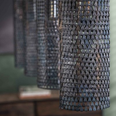 LifestyleFurn Hanglamp 'Armor' 4-lamps