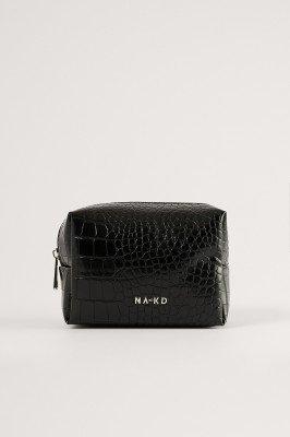 NA-KD Accessories NA-KD Accessories Make-up Kleine Tas - Black