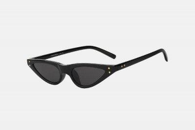 Blank-Sunglasses NL NOTCHY. - Black with black