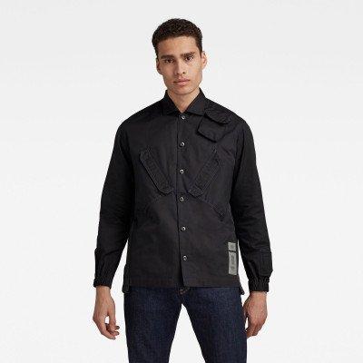 G-Star RAW Multi Slant Pocket Relaxed Shirt - Zwart - Heren