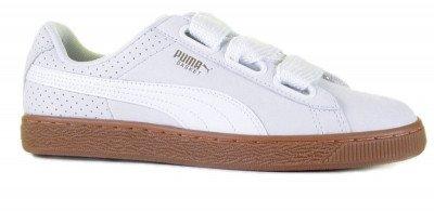 Puma Puma Basket Heart Perf Gum 366809-01 Damessneakers