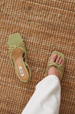 NA-KD Shoes NA-KD Shoes Slingback Sandalen - Green