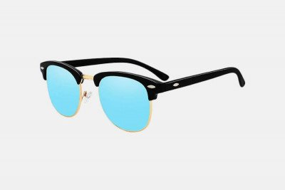 Blank-Sunglasses NL CLASSIC. - Black with blue