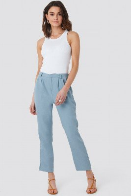 Sparkz Victoria Crop Pants - Blue