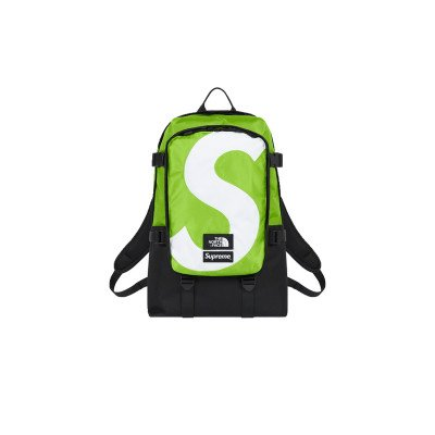 Supreme Supreme The North Face S Logo Expedition Backpack Lime (FW20)