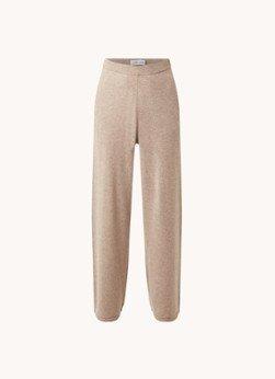 Samsøe en Samsøe Samsøe & Samsøe Amaris high waist loose fit fijngebreide broek