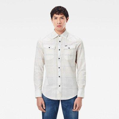 G-Star RAW 3301 Slim Shirt - Wit - Heren