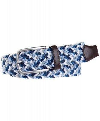 Profuomo Profuomo heren kleurrijke elastisch gevlochten riem