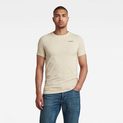 G-Star RAW Slim Base R T-Shirt - Wit - Heren