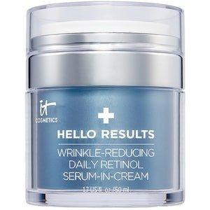 It Cosmetics It Cosmetics Hello Results Retinol Serum In Cream It Cosmetics - Hello Results Retinol Serum In Cream Anti Age Dagcreme - 50 ML