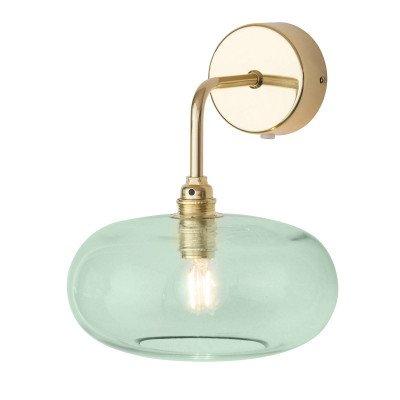 Ebb en Flow EBB & FLOW Horizon arm-wandlamp goud/groen Ø 21 cm