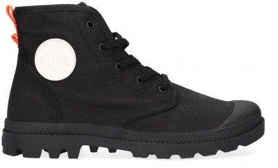 Palladium Zwarte Palladium Hoge Sneaker W Pampa Hi Twill