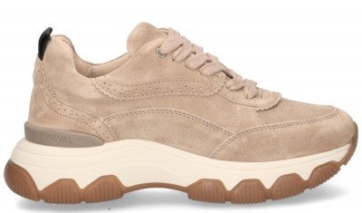 VIA VAI VIA VAI Coco Tess Lichtbruin Damessneakers