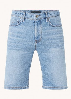 Marc O'Polo Marc O'Polo Slim fit korte broek van denim met stretch