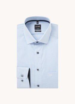 Olymp Olymp Regular fit overhemd met streepprint
