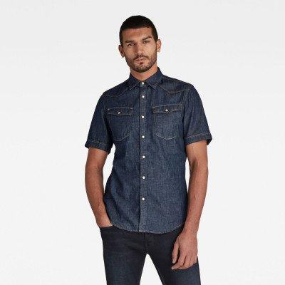 G-Star RAW 3301 Slim Shirt - Donkerblauw - Heren