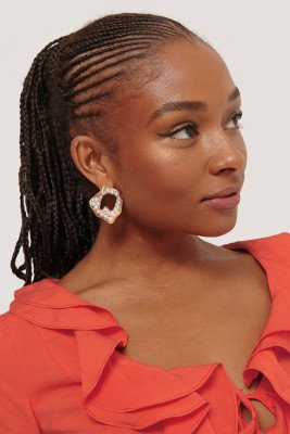 NA-KD Accessories NA-KD Accessories Sea Look Earrings - Gold