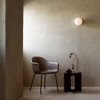 Menu Menu TR Bulb LED plafondlamp zwart/opaal glans