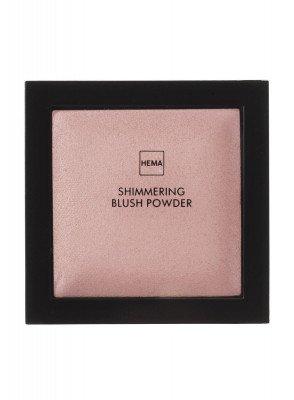 HEMA Shimmering Blush Powder Heartbreaker Rouge (roze)