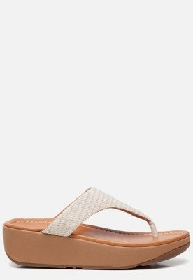 FitFlop FitFlop Imogen Toe Post slippers beige