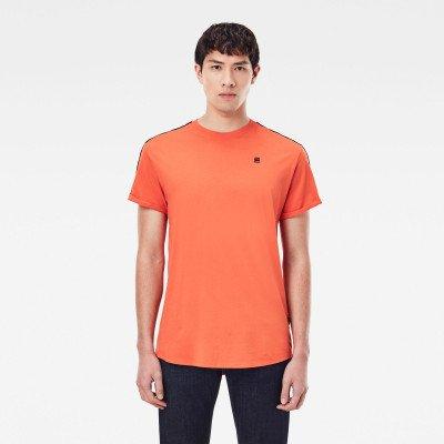 G-Star RAW Lash Tape T-Shirt - Oranje - Heren