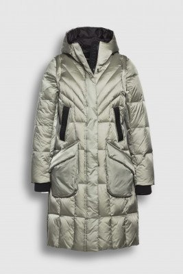 Creenstone Creenstone 2 in 1 Puffer with detachable sleeves - Frosted Pine