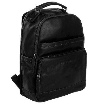 Chesterfield Chesterfield Bags Leren Laptop Rugzak Austin Zwart