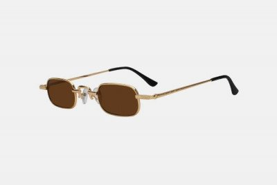 Blank-Sunglasses NL PREME. - Gold with brown