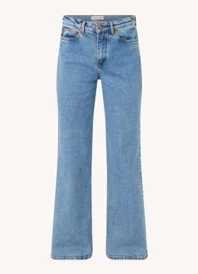 Samsøe en Samsøe Samsøe & Samsøe Riley high waist straight fit jeans met stretch