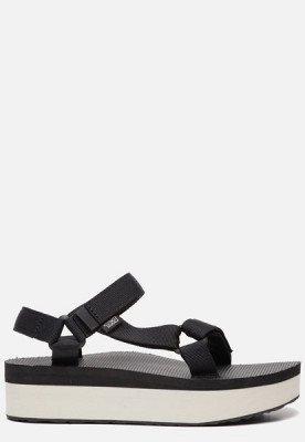 Teva Teva Flatform Universal sandalen zwart