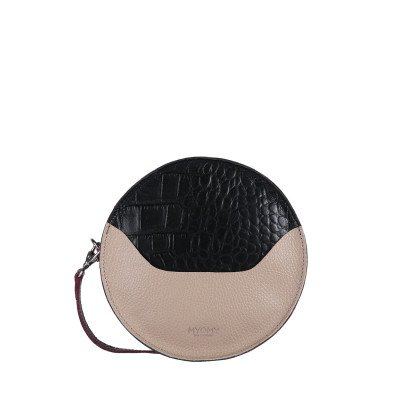 MYOMY MYOMY MY CARRY BAG Cookie Mix Black & Pink