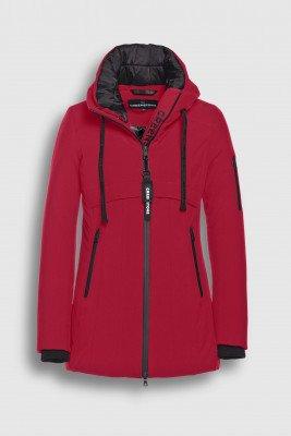 Creenstone Creenstone Technical paneled jacket - Cherry