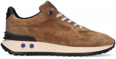 Floris van Bommel Camel Floris Van Bommel Lage Sneakers 16484
