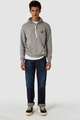 Kings of indigo Kings of Indigo - NARA sweater Male - Grey