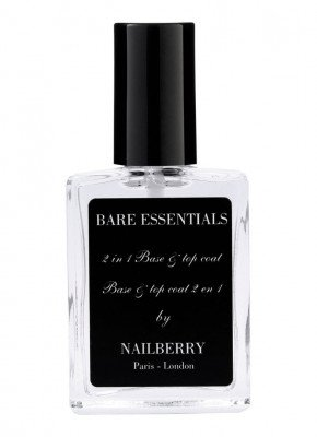 Nailberry Nailberry Bare Essentials 2 in 1 Base & Top Coat - nagellak base- & topcoat