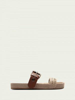 Scotch en Soda Scotch & Soda Yolin leren sandalen