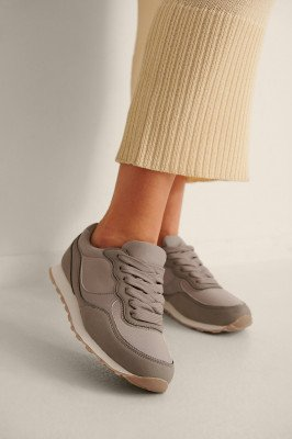 NA-KD Shoes NA-KD Shoes Lichtgewicht Retro-Sneakers - Grey