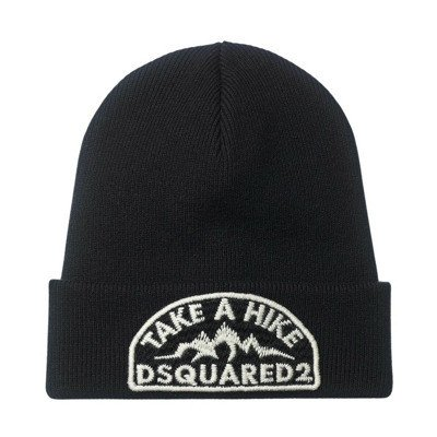 Dsquared2 knitted wool hat