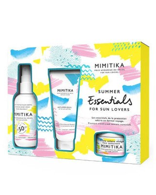Mimitika Mimitika - Summer Essentials Kit SPF50 - 75 ml + 50 ml + 10 ml
