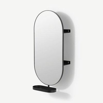 MADE.COM Kalo pilvormige spiegel met opbergruimte